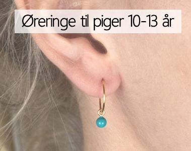 1dc42850159 Øreringe til Børn 10-13 år - Øreringe til piger mellem 10-13 i ...
