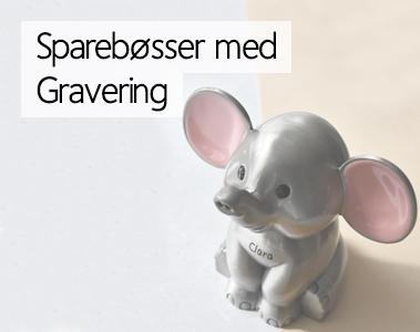44dc7b730 Sparebøsse med Navn - Køb med gratis levering hos Smykke Mester