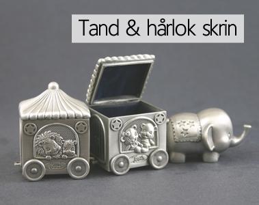 Tand/Hårlok Skrin