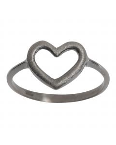 Nordahl, Icons Ring, Sort Sølv