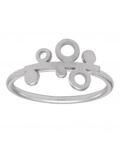 Nordahl, Graphic Ring, Sølv