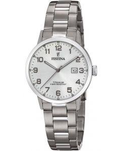 Festina 20436/1 - Titanium Date dameur