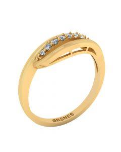 8 Karat Guld Ring fra Smykkekæden