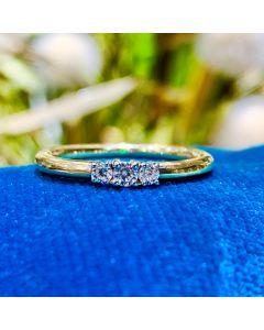 Smykkekæden 8 Karat Guld Ring