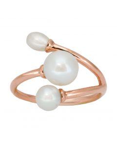 Rabinovich, Faithful White Ring, Rosa Forgyldt