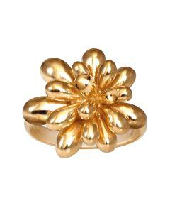 Rabinovich, Luxuriant Drops Ring, Forgyldt