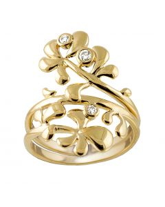 Rabinovich, Posy Ring, 14 Karat Guld