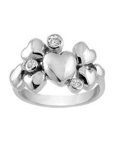 Rabinovich, Heart Alliance Ring, Sølv