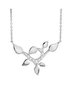 Rabinovich, Sparkling Leaves Halskæde, 42/45 cm, Sølv