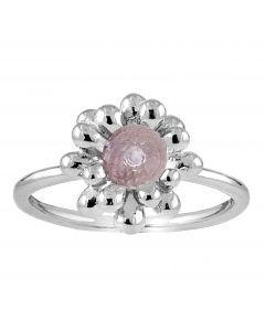 Rabinovich, Caring Nest Ring, Pink Ametyst/Sølv