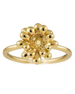 Rabinovich, Caring Nest Ring, Krystal/Forgyldt