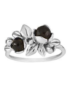 Rabinovich, Inner Secret Ring, Black Spinel/Sølv