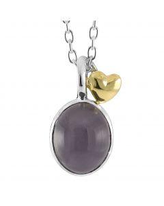 Rabinovich, Golden Love Halskæde, 14 Karat Guld/Sølv