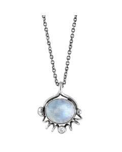 Rabinovich, Moon Light Halskæde, 45 cm, Sølv
