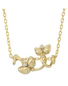 Rabinovich, Diamond Star Halskæde, 14 Karat Guld
