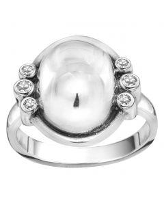 Rabinovich, Glamorous Sphere Ring, Sølv