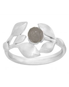 Rabinovich, Elegant Touch Ring, Grey Moonstone/Sølv
