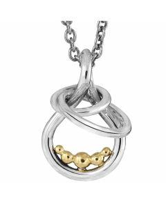 Rabinovich, Golden Bubbles Halskæde, 14 Karat Guld/Sølv