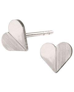 Scherning, Heart Ørestikker, Sølv