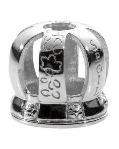 SPOIL Krone Sølv Charm