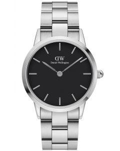 Daniel Wellington ADW00100204 - Iconic Link 36 MM Silver Black