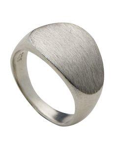 Trine Wilkens, Continent Signet Ring, Sølv