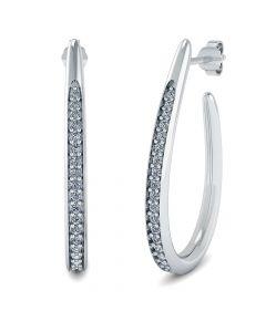 Smykkekæden Sterling Sølv Øreringe ORSB020S