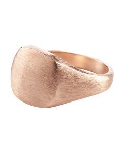 Pernille Corydon, Signet Ring, Rosa Forgyldt