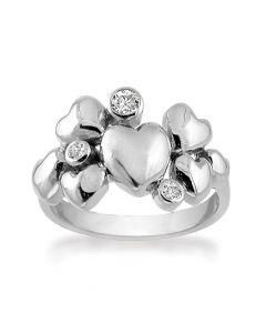 Rabinovich Heart Alliance Sterling Sølv Ring 63016370