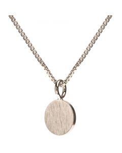Scherning, Spot Halskæde, Sølv, 45cm Kæde