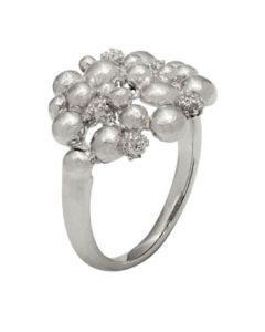 Trine Wilkens, Blossom Dream Ring, Sølv