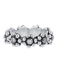 Carré, Granulated Goodies Ring, Sølv